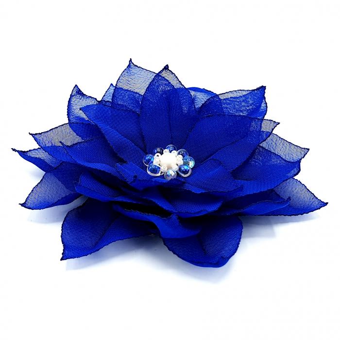 agrafa-par-floare-albastra 0