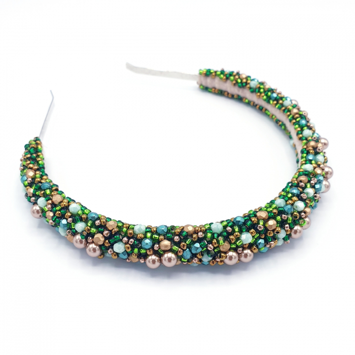 coronita-par-perle-cristale-verde-auriu [4]