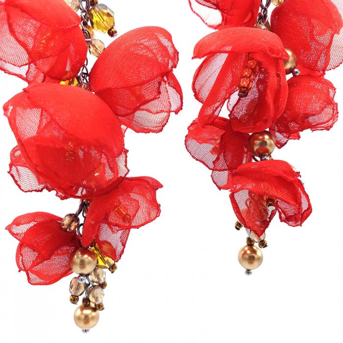 cercei-lungi-statement-flori-rosii [2]