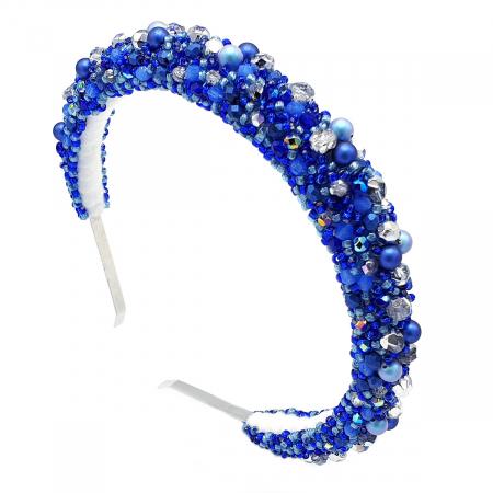 BLUE SPARK | Coronita par, albastra0