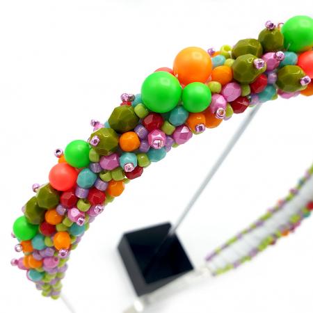BRAVE | Coronita par multicolor – neon3