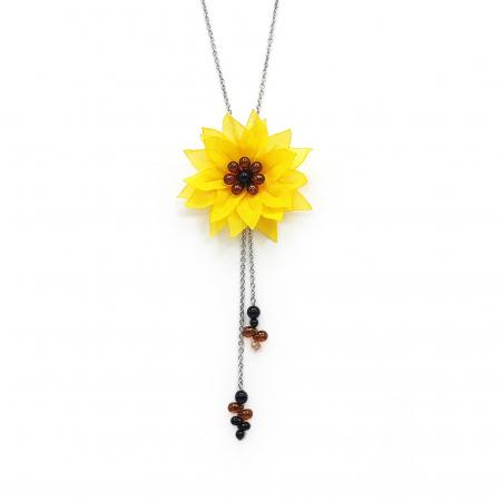 SUNFLOWER | Colier floarea soarelui0