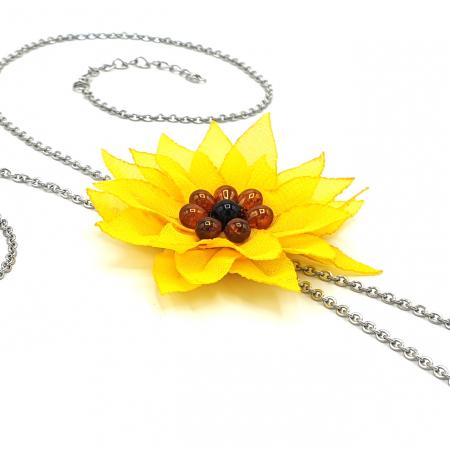 SUNFLOWER | Colier floarea soarelui3