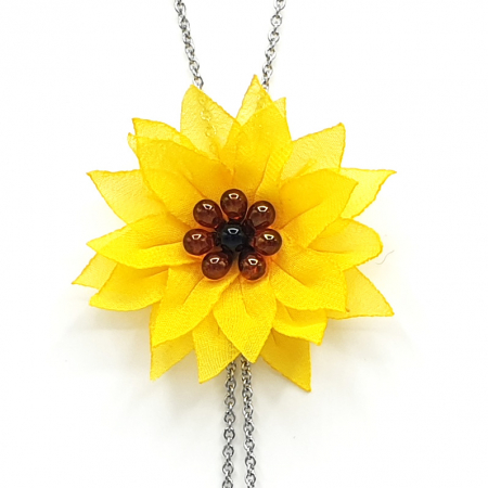 SUNFLOWER | Colier floarea soarelui1