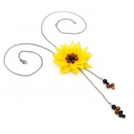 SUNFLOWER | Colier floarea soarelui2