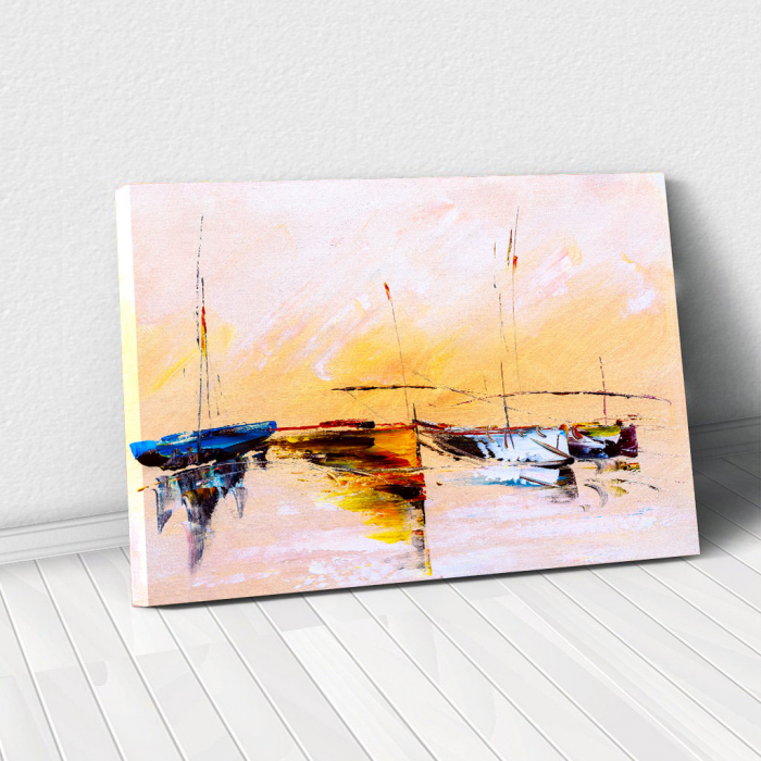 Tablou Canvas - Painting Boat 0