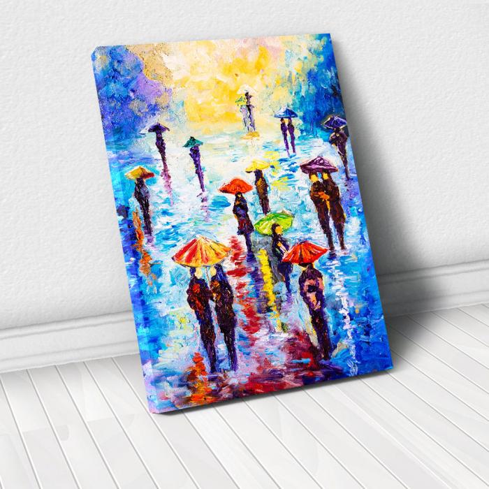 Tablou Canvas - Colour Rainy 0
