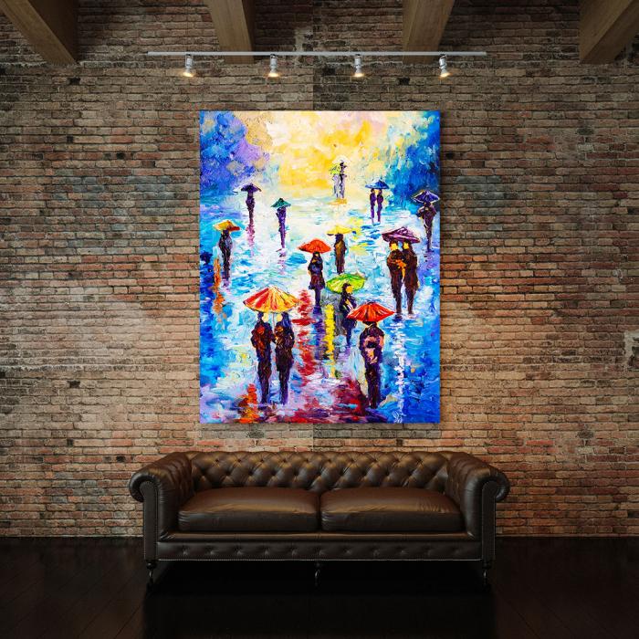 Tablou Canvas - Colour Rainy 2