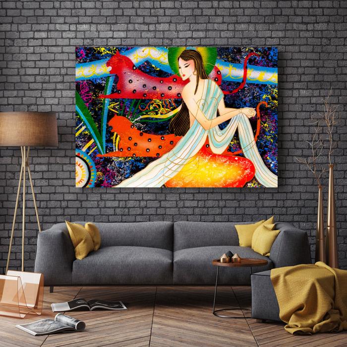 Tablou Canvas - Mythology [2]