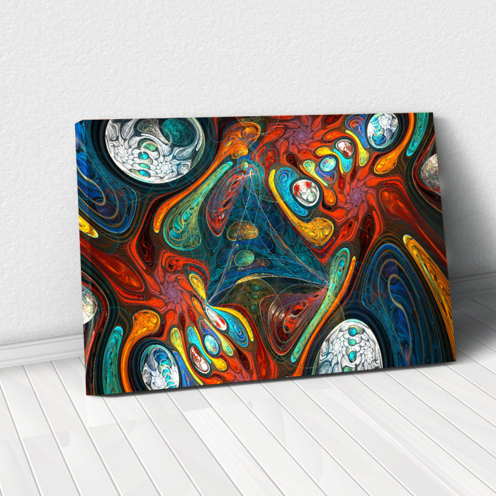 Tablou Canvas - Abstract Shapes 0