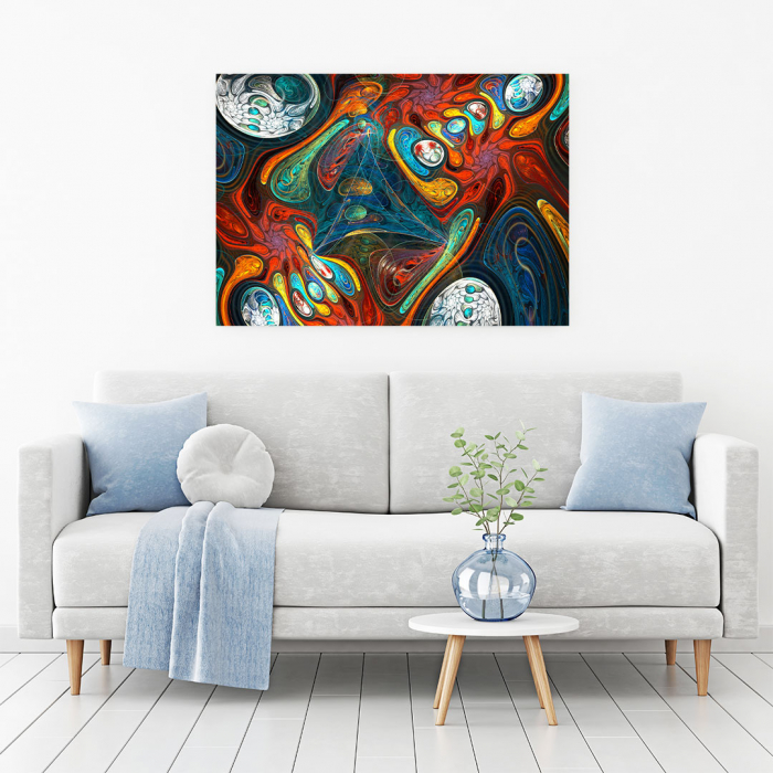 Tablou Canvas - Abstract Shapes 1