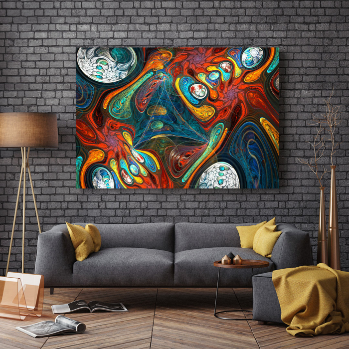 Tablou Canvas - Abstract Shapes 2