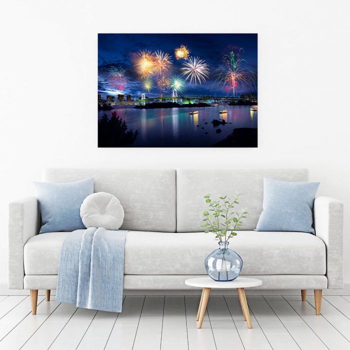 Tablou Canvas - Tokyo Fireworks 1
