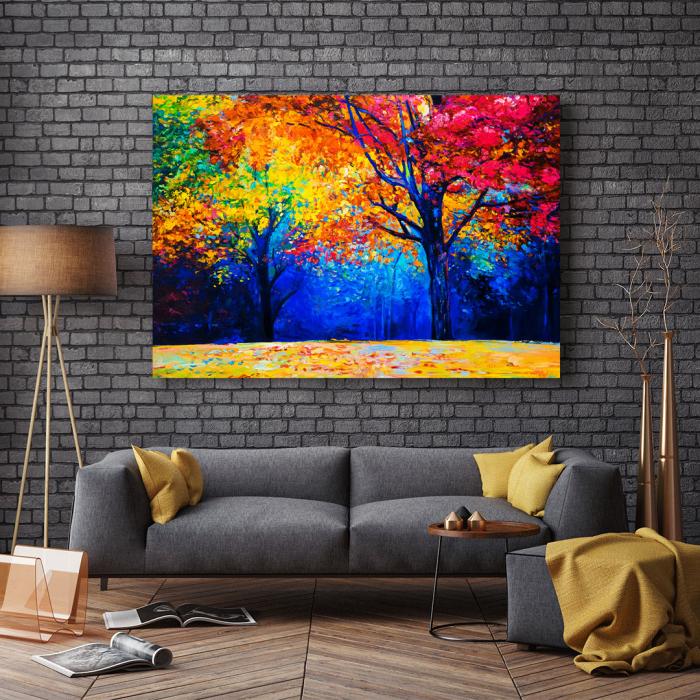 Tablou Canvas - Colourful Autumn [2]