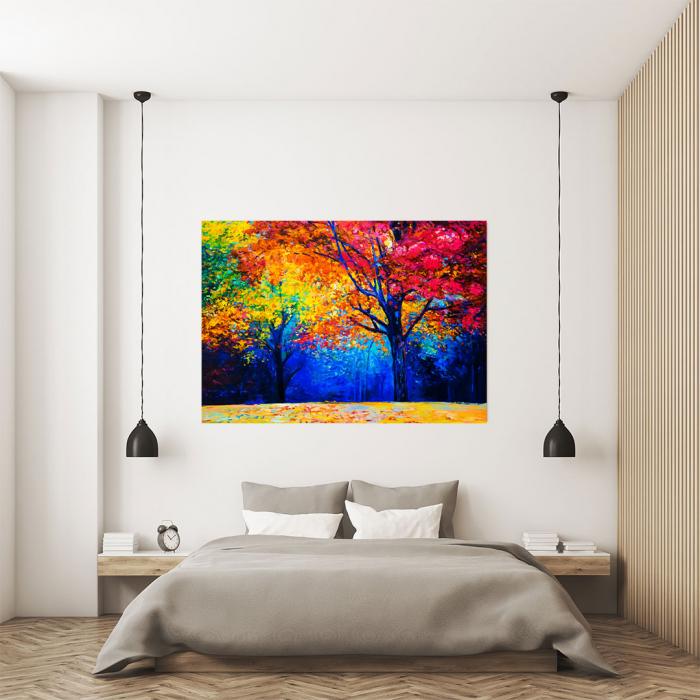 Tablou Canvas - Colourful Autumn 3