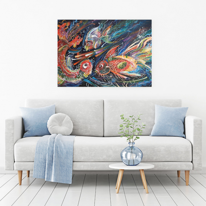 Tablou Canvas - The Sea Trio [1]