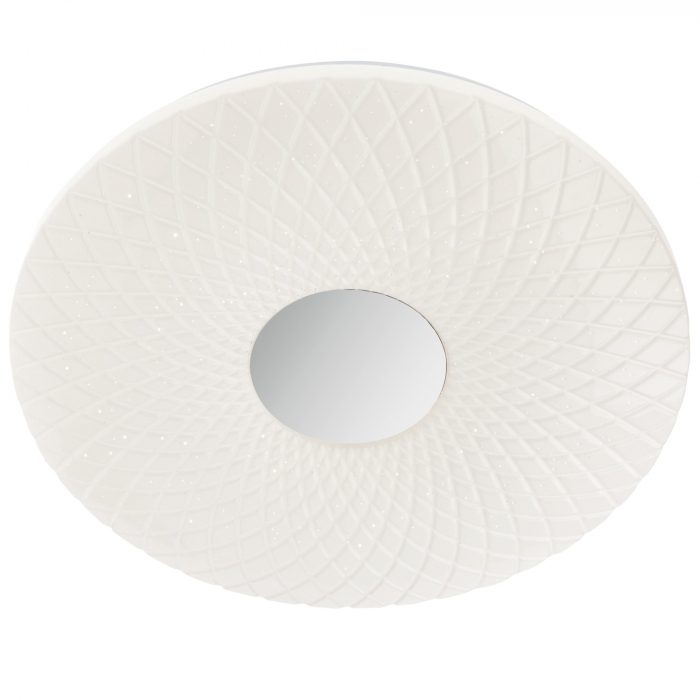 Plafoniera LED ,alb cu efect de sclipire 0