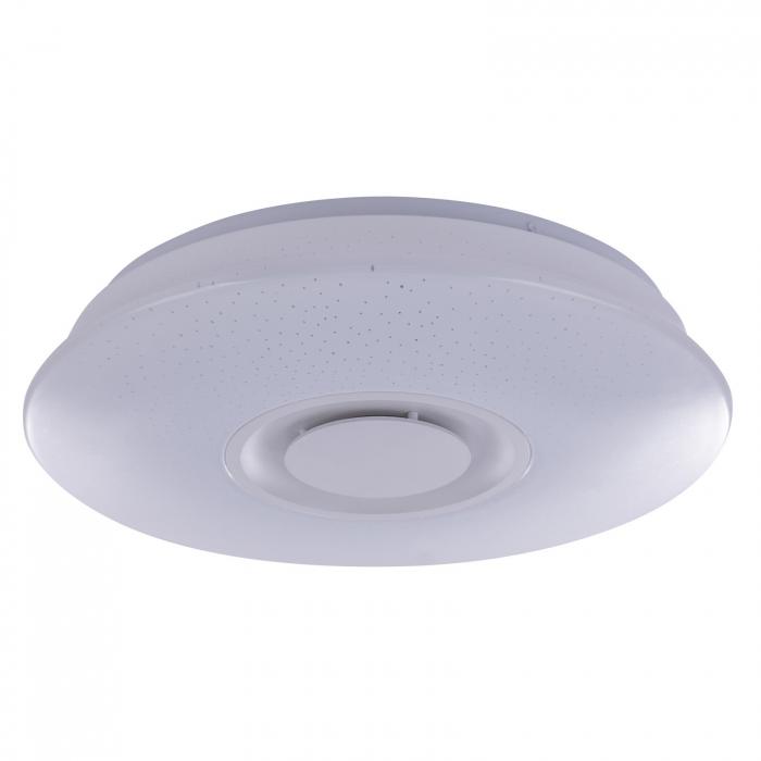 Plafoniera LED ,cu difuzor, Bluetooth, alba [2]