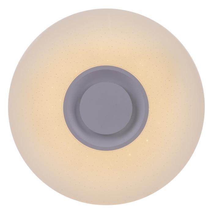 Plafoniera LED ,cu difuzor, Bluetooth, alba [0]