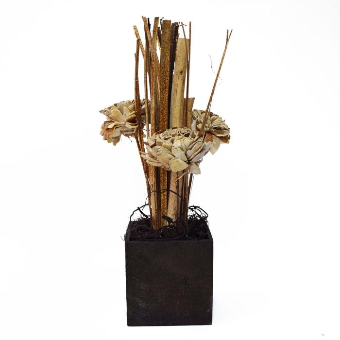 Floare aurie ornamentală 1