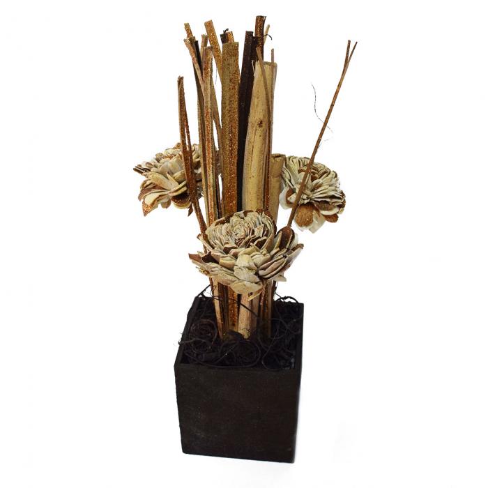 Floare aurie ornamentală 2