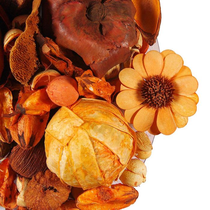 Flori uscate parfumate decorative Potpourri.180gr. 0