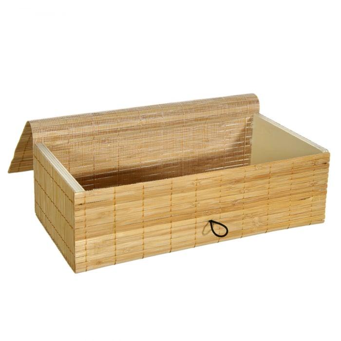 Suport din bambus pentru șervețele.26x14x9 cm [1]