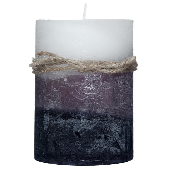 Lumânare parfumată alb-negru.7x10 cm 0