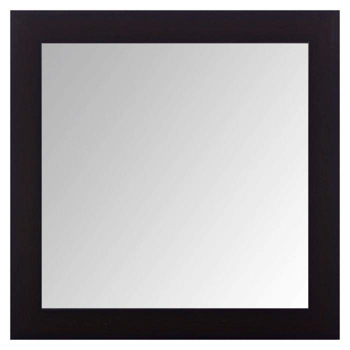 Oglindă de perete maro 36x36x4 cm 0