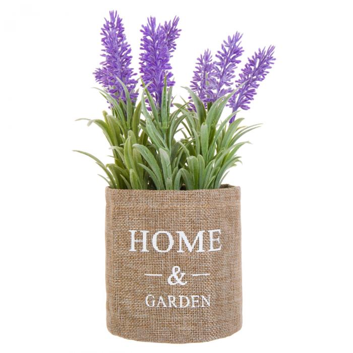 Glastră crem cu flori pentru interior - exterior 0