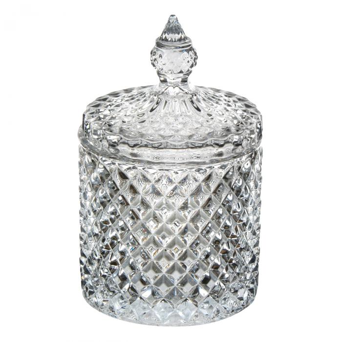 Bombonieră din sticlă cu capac 550ml [1]
