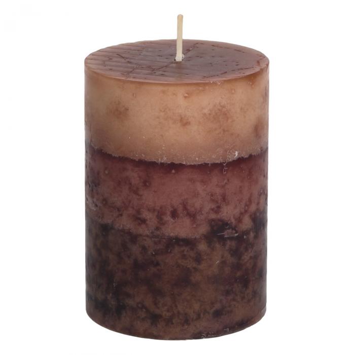 Lumânare parfumată din lemn de santal.6,8x9,5 cm 1