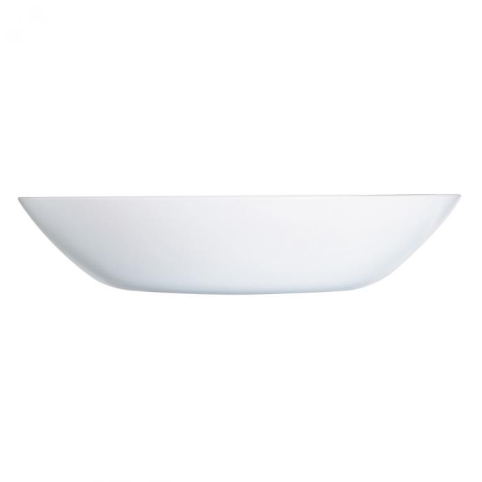 Farfurie albă pentru supă 0