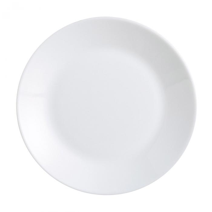 Farfurie albă pentru supă 1