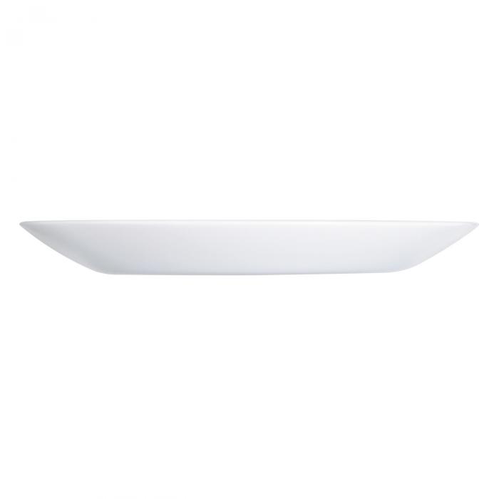 Farfurie întinsă albă.25 cm [2]