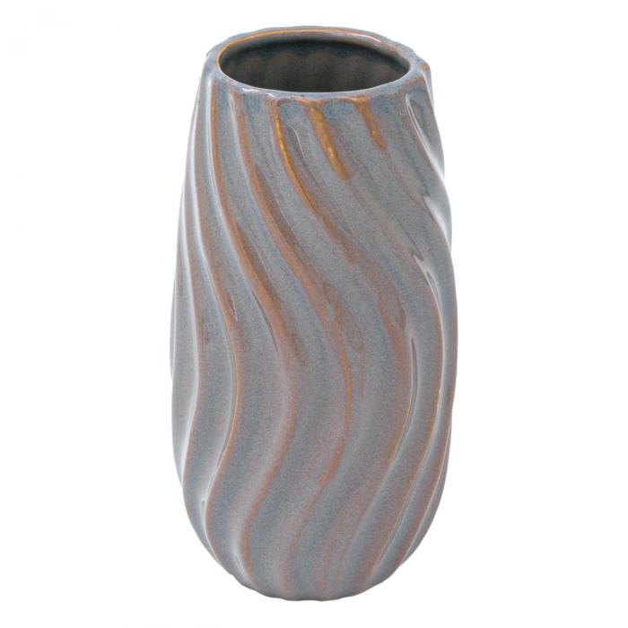 Vază din ceramică cu model în relief.7,5x14 cm 0