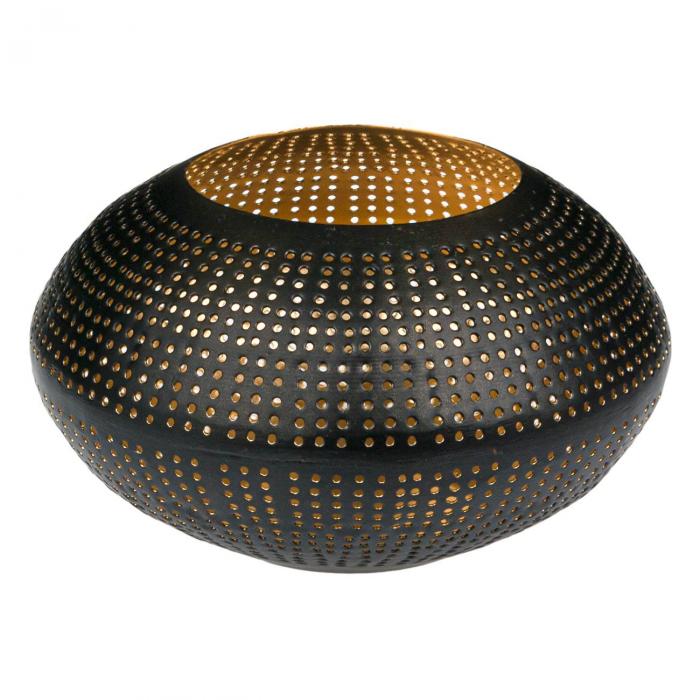 Suport metalic oval pentru lumânare 0