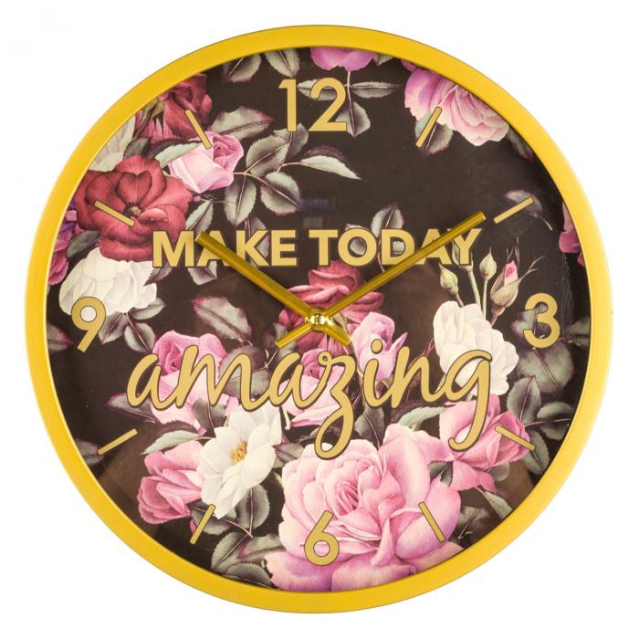 Ceas cu flori.30 cm 0