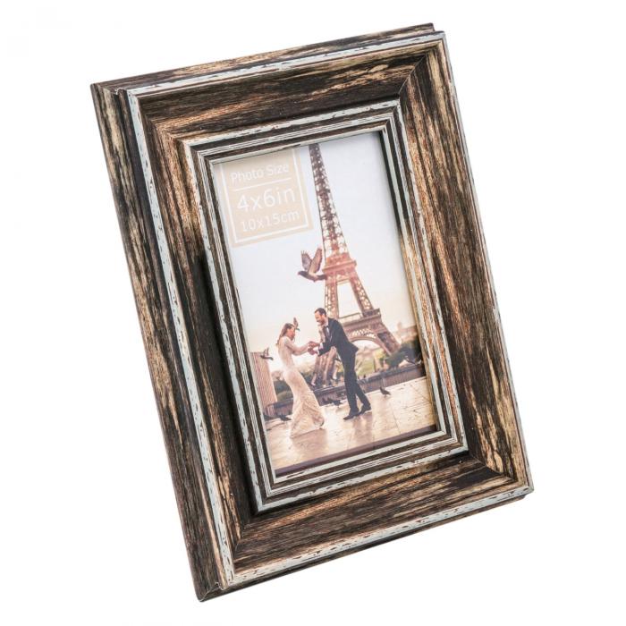 Ramă foto din lemn maro [0]