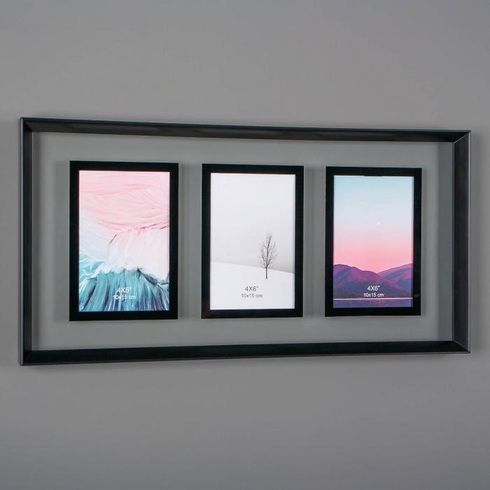 Ramă foto pentru 3 fotografii.50x25 cm [0]