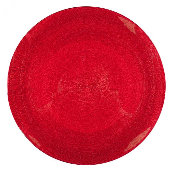 Farfurie roșie.27,5 cm 1