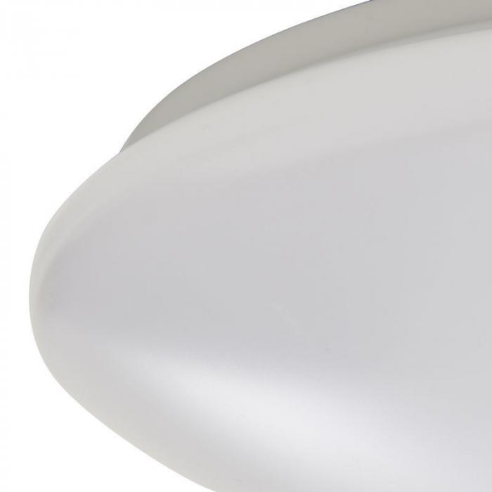 Plafoniera led, cu senzor, 30 x 30 x 8.1 cm, plastic si metal 1