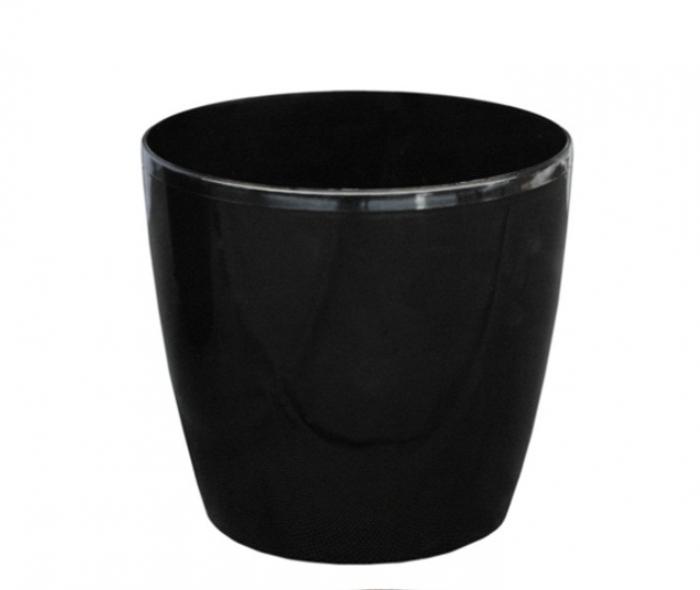 Ghiveci negru clasic.16Cm 0