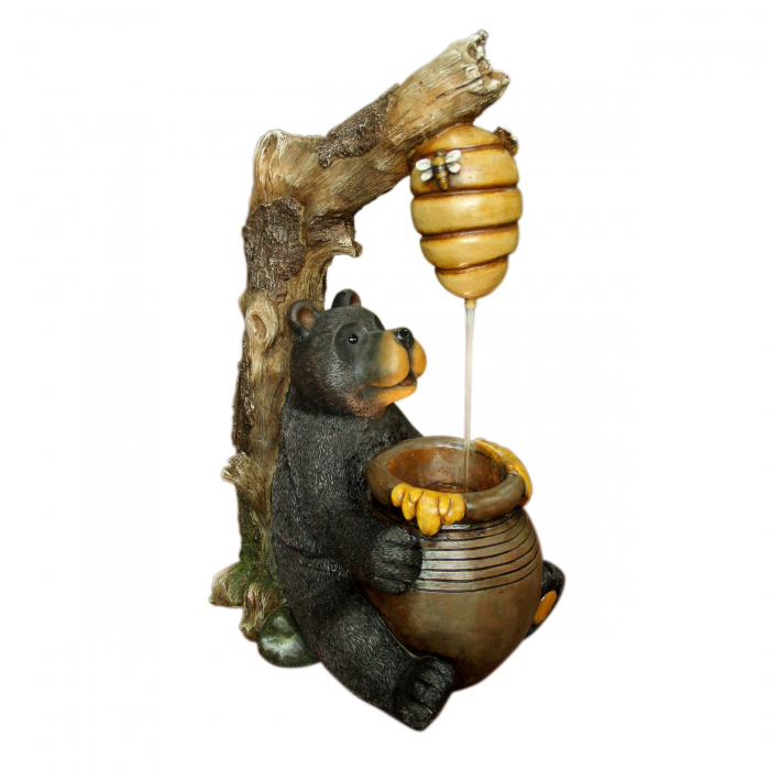 Fântână arteziană  urs,cu pompă recirculare apă, 41 x 30 x 67.5 cm. 0