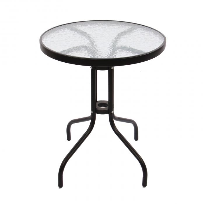 Set masă rotundă, cu 2 scaune pentru grădină 2