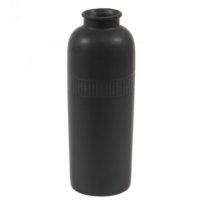 Vază decorativă  în formă cilindrică. 23 cm 0