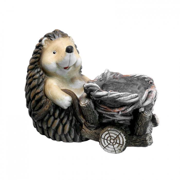 Ghiveci decorativ, ceramică, Arici, 37.5 x 21 x 27.5 cm [0]
