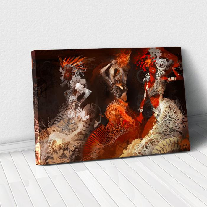 Tablou Canvas - Wild Dance 0