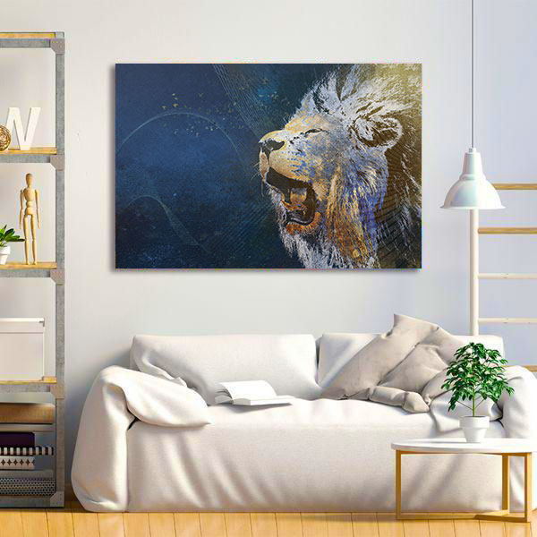 Tablou Canvas - Be a Lion 1