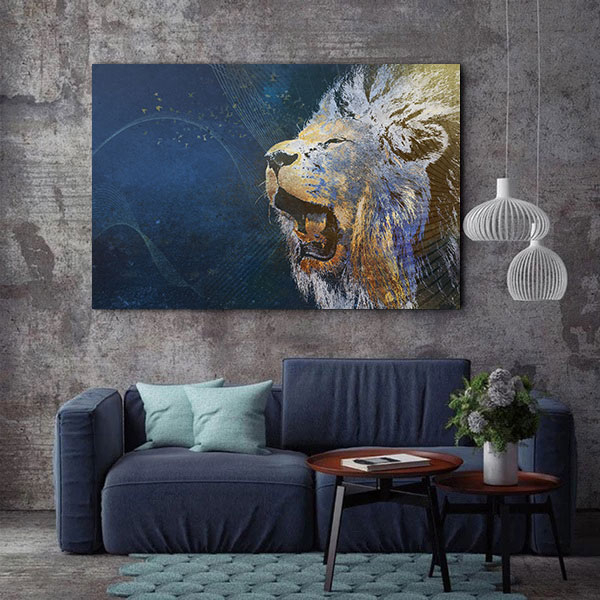 Tablou Canvas - Be a Lion 2